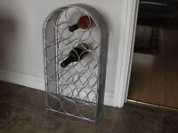 Free standing wine rack