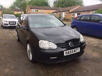 2007 VW Golf 1.4 Black 5dr Manual Petrol MOT 1 Year Navigation R32 Alloys 2 Keys
