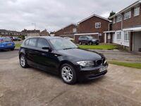 57 REG BMW 118D SE,MANUAL,30£ TAX A YEAR,2 KEYS,NEW MOT,07707755411