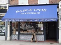 KITCHEN PORTER WANTED! to be trained as a chef 40-45 hours a week day time only
