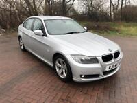 11 REG BMW 3 SERIES 2.0 320d EFFICIENT DYNAMICS 4DR-SAT NAV-BLUETOOTH-HISTORY-£20 ROAD TAX-GOOD CAR