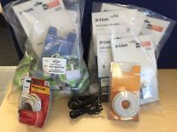 Large number of ADSL filters / adaptors & RJ11 Phone Cable