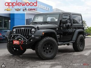 2017 Jeep Wrangler Sport FRONT BUMPER WITH TOW WINCH, LED LIG...