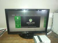 42 inch LG tv and 250gb xbox 360