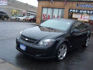 2007 Chevrolet Cobalt SS Supercharged/CLEAN CAR PROOF/LEATHER/SU