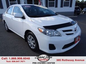 2013 Toyota Corolla CE with Air $107.80 BI WEEKLY!!!