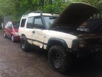 Landrover discovery 200 tdi breaking