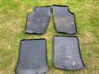 Saab 9000 CS rubber protective floor mats