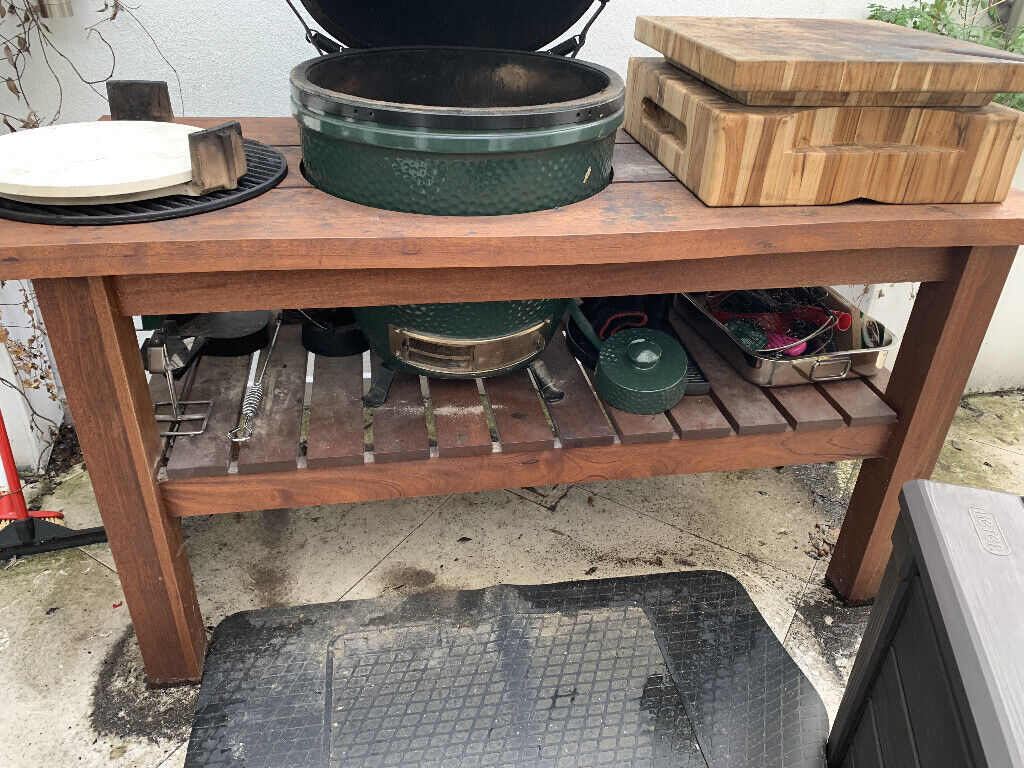 Magnificent Big Green Egg Royal Mahogany Table For Large Egg Table Cover In Shepherds Bush London Gumtree Interior Design Ideas Gentotryabchikinfo