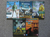 Breaking Bad Complete Series, DVD Box Sets Season 1-5