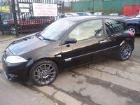 Renault MEGANE Sport Cup, Rare 3 door sport hatch,225 BHP,full leather interior,keyless entry/start