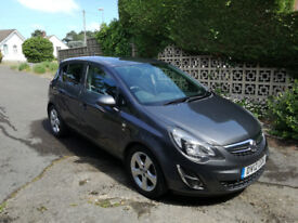 Vauxhall Corsa 1.4 SXI (A/C) 5 door. 1 previous owner. Full Vauxhall service history 52000 mls