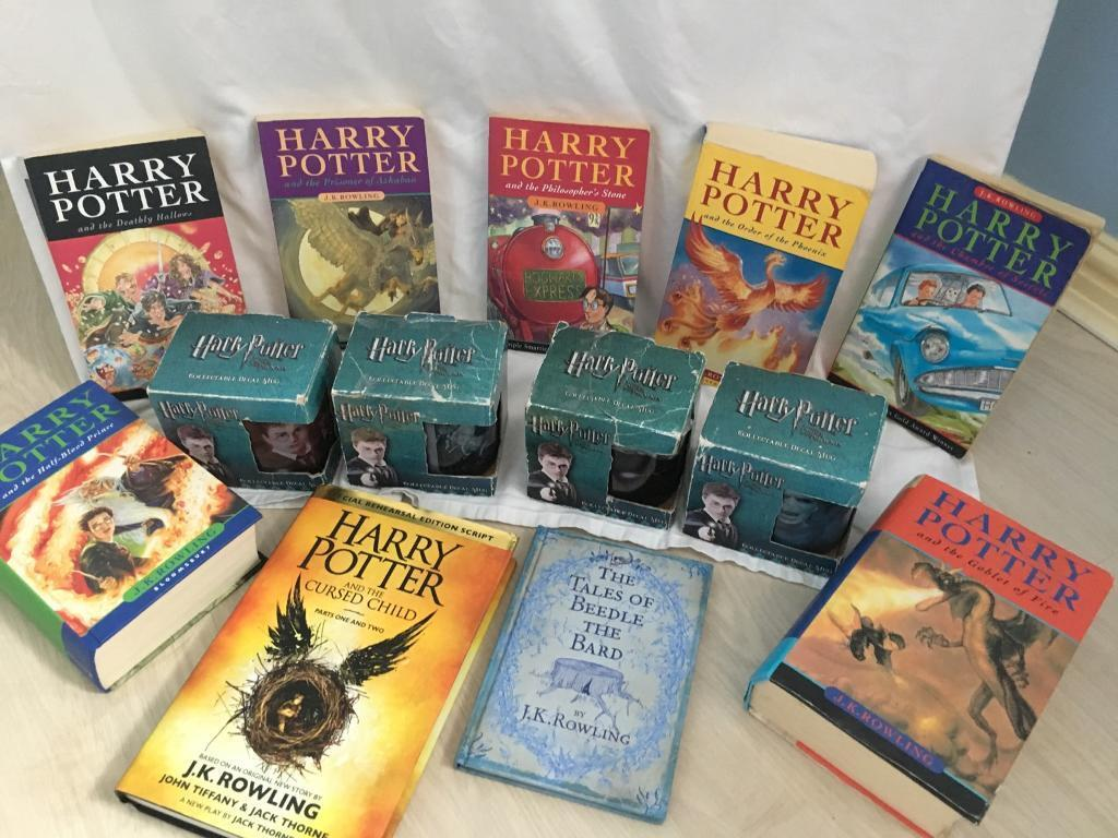 Harry Potter and the Cursed Child dollhouse miniature book