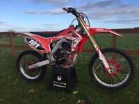 Honda crf 250 twin pipe 2015 Low Hours Motocross bike not 450 125 kxf ktm yzf