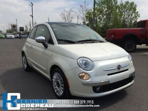 2014 Fiat 500 Lounge **CUIR+SIEGES CHAUFFANT+BLUETOOTH+WOW!!