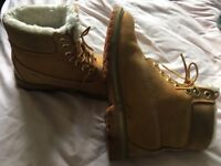 Size 3 timberlands boots