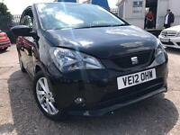 SEAT MII SPORT BLACK PETROL 999CC 75BHP LONG MOT NATIONWIDE DELIVERY **BARGAIN**