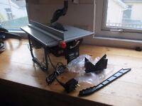 New Ferm Table Saw / Bench Saw 45mm cutting depth 200mm