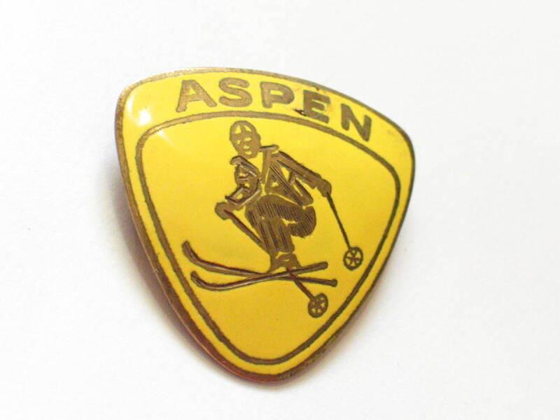 Aspen Colorado Skiing Pin  (#523)