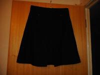 Atmosphere Black Skirt. Size 12