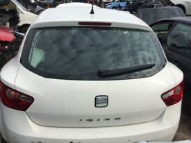 2008 - 2014 Seat Ibiza Sport Tailgate Bootlid Bare LB9A White