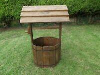 Garden Wooden Well Handmade various sizes available!!!!!!!!!!!!!
