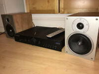 Cambridge Audio hi-fi system (Azur 340A amp, S30 speakers, remote and all cables)
