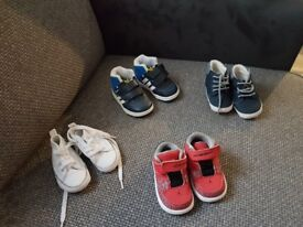 Baby shoes and baby walker