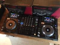 2x Pioneer CDJ 2000 Nexus Decks + DJM 900 Nexus Mixer - MINT / BOXED