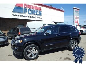 2015 Jeep Grand Cherokee Limited 4X4 - 17,966 KMs, 3.6L V6 Gas