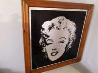 Vintage large Marilyn Monroe mirror