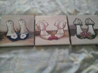 Next set of 3 canvases