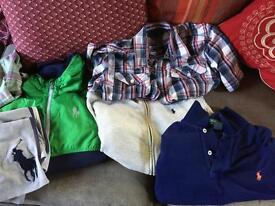 Job lot boys Ralph Lauren clothes