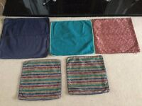 Bundle of 5 Cushion Covers for just 50p - Only 10p Each!