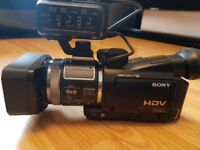 Sony-HVR-A1E-Camcorder-in-excellent-condition-LOW HOUR METER