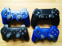 Sony Playstation Wireless Controllers PS4 PS3