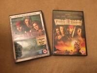 Pirates of Caribbean Collection (x2)
