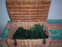 Picnic Hamper with lots of accessories - ideal for using in Christmas Raffle if you put items in it