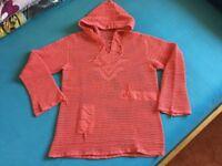 Crochet women summer tops / hoodie size 10 / 12