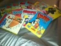 JOB LOT OF VINTAGE 1980s COMIC BOOK ANNUALS
