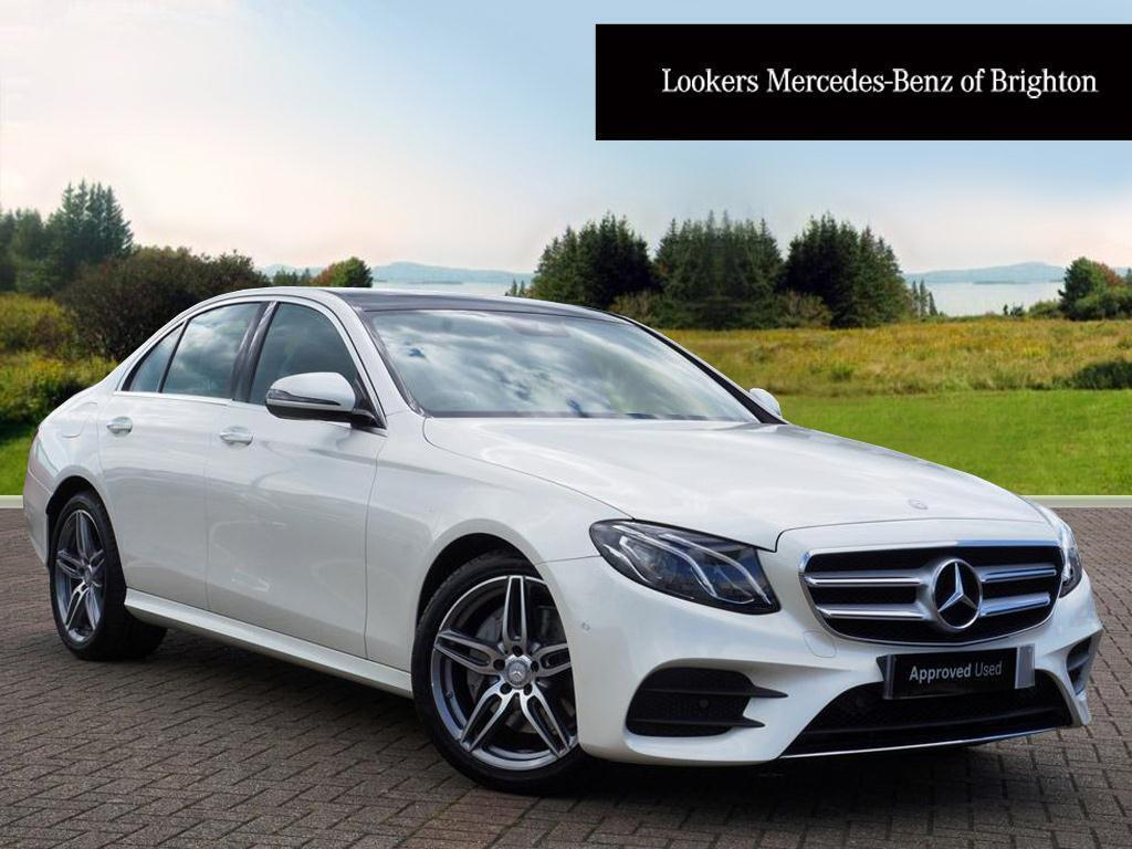 mercedes benz e class e 220 d amg line premium white 2016 04 29 in portslade east sussex. Black Bedroom Furniture Sets. Home Design Ideas