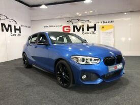 BMW 1 SERIES 2.0 120d M Sport Sports Hatch (s/s) 5dr Auto (blue) 2015