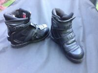 Icon Motorcycle boots 8.5
