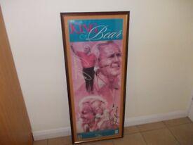Framed print Arnald Palmer and Jack Nickalas very good condition