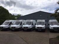 mercedes sprinter 313 mwb fridge van with standby.2013.choice of 7 similar vans