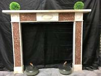 Antique Georgian Marble Fireplace Surround