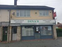 THRIVING OFF LICENSE WITH GREAT POTENTIAL FOR SALE