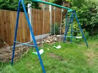 Children's multi swing / see-saw