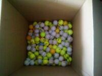 200 mixed range golf balls