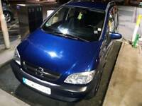 Opel Zafira 2004 1.8 Petrol car for sale (Left hand drive)